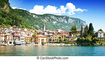 Varenna village, Como lake, Italy