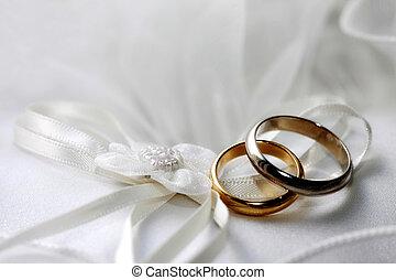 mariage, Anneaux