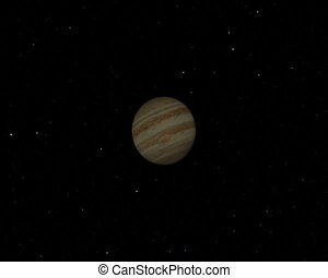 Jupiter Flyby CG pal - Jupiter flyby animation
