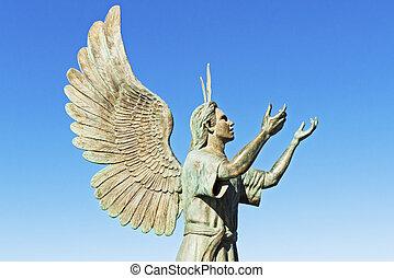 Puerto Vallarta Malecon sculpture - Puerta Vallarta Malecon...
