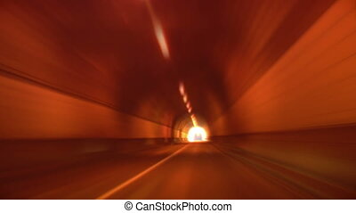tunnel abstract speed 01