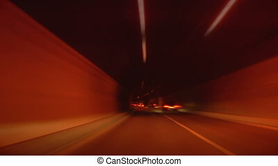 tunnel abstract speed 02