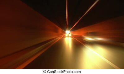 tunnel abstract speed 05