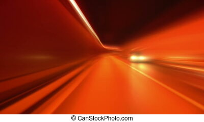 tunnel abstract speed 06