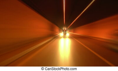 tunnel abstract speed 09