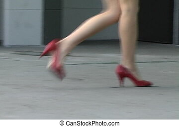 Alina\'s Luscious Legs - Perfectly toned pair of female legs...