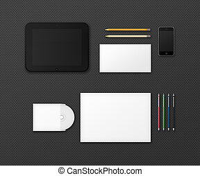 Office Supplies for Designers Presentations and Portfolios...