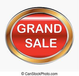 Grand sale button