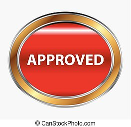 Approved sign button