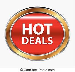 Hot deals button