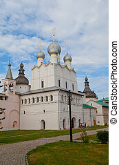 Assumption Cathedral in the Rostov Kremlin, Russia