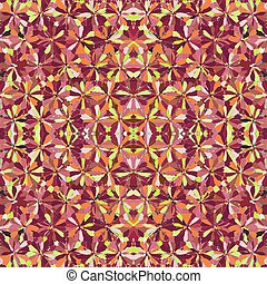 Colorful kaleidoscopic seamless pattern