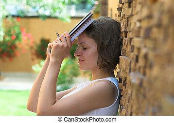 trastorno, Estudiante, después, examen, defecto