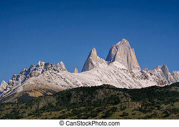 Los Glaciares National Park - Close-up view of magnificent...