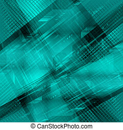 Grid Abstract Technology blue backg