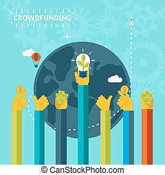 Creative World Crowd Funding Concept Design - Creative World...