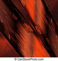 High-tech dark background