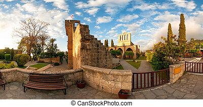 Bellapais Abbey, Kyrenia district, Cyprus