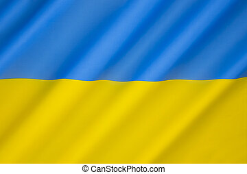Flag of Ukraine - Adopted in 1918 by the short-lived...