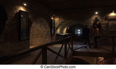 Rooms and halls of the fortress of Old Ladoga - Rooms and...