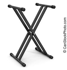 Musical synthesizer stand - Musical synthesizer support...