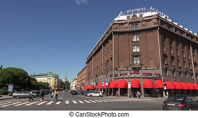 The Astoria Hotel. Saint-Petersburg.
