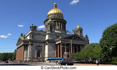 St. isaac's cathedral in St. Petersburg.