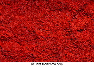 Chili powder - Red chili powder the background