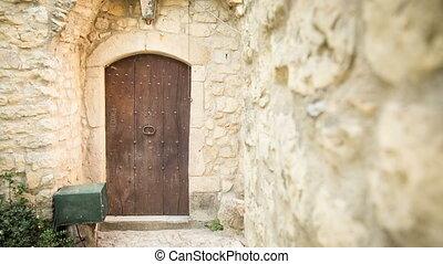 Door ancient house