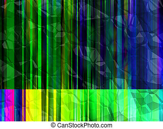 Crumpled Line Background - A colourful and crumpled...