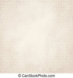 old paper background with abstract pattern - vector of old...