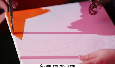 Drawing starts - Woman with red ring on his finger wrote in...