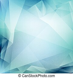 Vector Blue Abstract Background - Abstract vector blue...