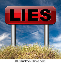 telling lies - lies breaking promise break promises cheating...