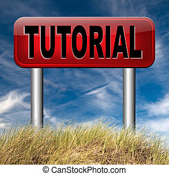 tutorial internet lessons learn online by watching video...