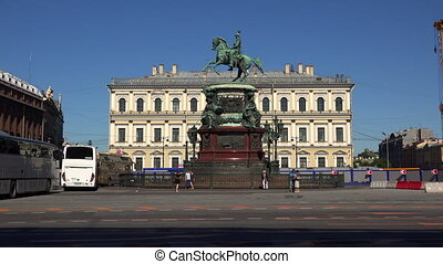 Monument to Emperor Nicholas I. St. Petersburg. 4K. -...