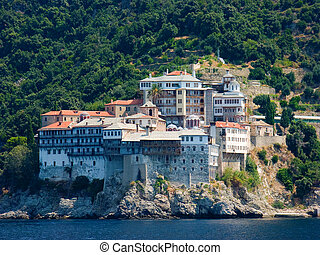Monastery on Mount Athos - The Holy Monastery of Gregoriou...