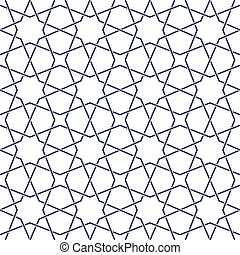Tangled Eastern Pattern - Traditional arabic tangled...