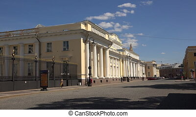 The ethnographic Museum in Saint-Petersburg.