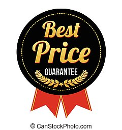 Best price guarantee badge