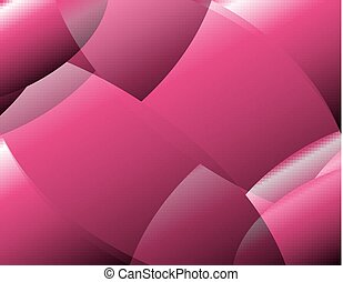 Abstract pink pattern background vector