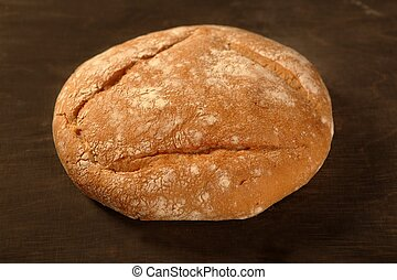 bread with round shape
