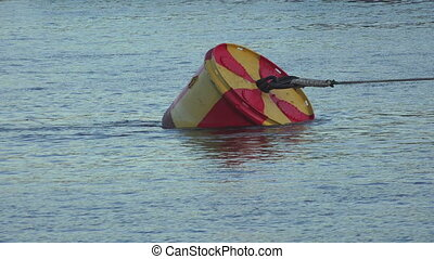 Buoy in the water.