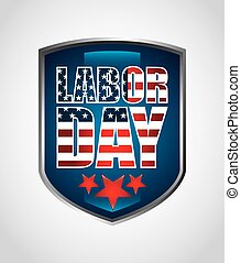 labor day design - labor day graphic design , vector...