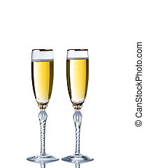 Golden Champagne for the special occasion - Golden champagne...