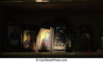 Orthodox icons Shot in 4K ultra-high definition UHD, so you...