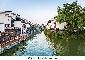 nanjing scenery of the qinhuai river - beautiful nanjing...