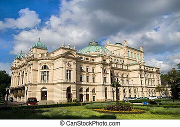 Slowacki The Baroque Style Theater - The baroque style...