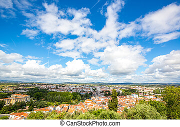 Old Town Tomar, Portugal - aerial view Old Town Tomar,...