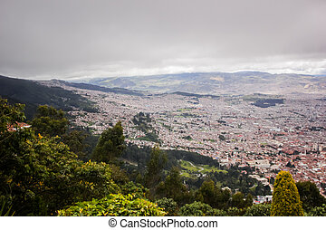 Bogota from Montserrate